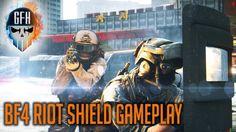 Battlefield 4 Riot Shield Gameplay