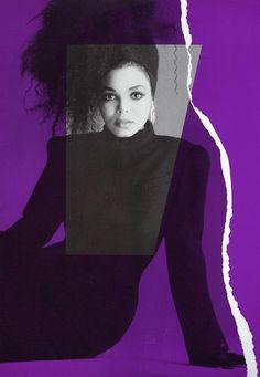 Janet Jackson. #80s #photography #design #graphic