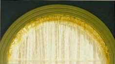 Sunburst Curtain - a DIY for replacing our current window coverings. Much cheaper.