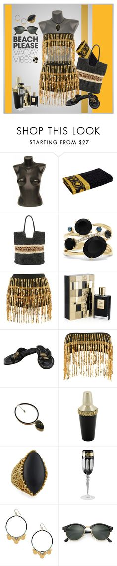 Designer Clothes, Shoes & Bags for Women Chan Luu, Effy Jewelry, Black Gold, Versace, Knight, Tory Burch, Polyvore, Stuff To Buy, Design