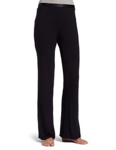 d88f6111ef1a1 Calvin Klein Womens Essential Satin Pajama Pant Black Medium ** To view  further for this