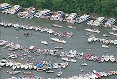 Party cove at lake of the ozarks. Not something I care to do again but you have to go at least once!