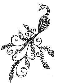 henna peacock - Google Search
