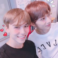 Vernon and Jun Vernon, Joshua Hong, Beautiful Boys, Jun, Seventeen, Vines, Ships, Icons, Kpop