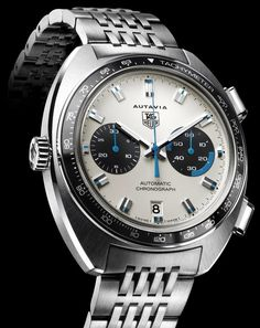 Tag Heuer Autavia (One of the watches I wear personally).