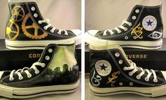 The Mortal Instruments inspired shoes.