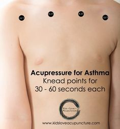 Acupressure for Asthma - website only
