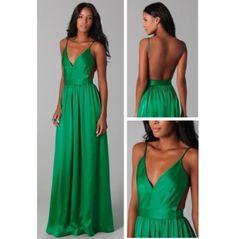 Chiffon Amazing Open Back Dress