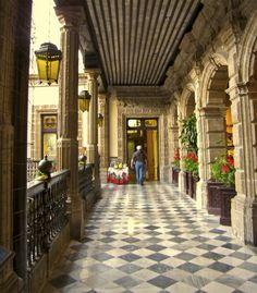 Palacio de hierro z calo centr hist rico del df for Azulejos en mexico df