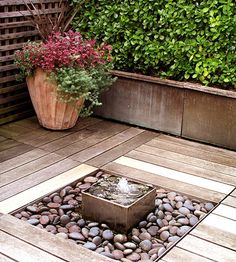 Dream Decks Small fountains Water features and Fountain