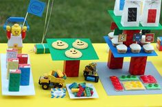 Lego Inspired Party Birthday Party Ideas   Photo 2 of 23
