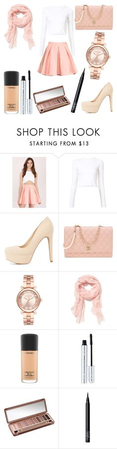 """""""Untitled #1022"""" by savannahmstyle ❤ liked on Polyvore featuring Tobi, Proenza Schouler, Charlotte Russe, Chanel, Michael Kors, Old Navy, MAC Cosmetics, 100% Pure, Urban Decay and NARS Cosmetics"""