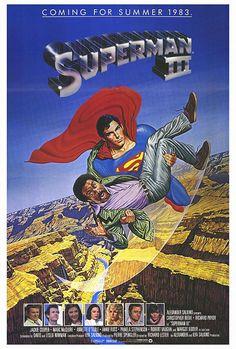 Superman III (1983) GB / USA Sci-fi fantasy. D: Richard Lester. Christopher Reeve, Richard Pryor, Jackie Cooper, Margot Kidder, Annette O'Toole, Pamela Stephenson, Robert Vaughn, Graham Stark. 12/05/02