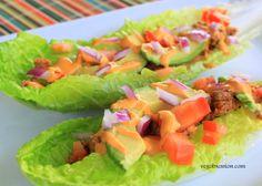 "Raw-vegan ""Cheesy"" Tacos"