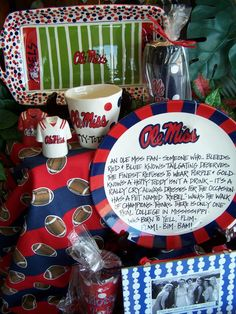 Ole Miss Tailgating goodies