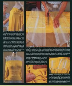 Awesome reference for draping, from Gretchen (Gertie) of course. :)