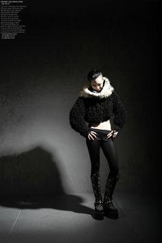 black short bolero jacket