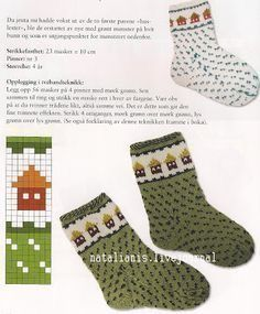 Детские носки с орнаментом (много! Fair Isle Knitting Patterns, Knitting Machine Patterns, Knitting Charts, Knitting Socks, Baby Knitting, Crochet Slippers, Knit Crochet, Lots Of Socks, Diy Baby Gifts