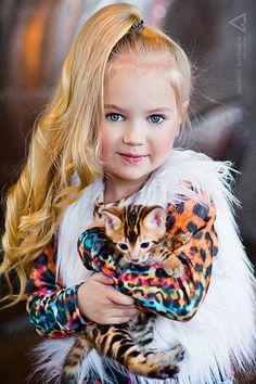 Anastasia Orub (born May 15, 2008) Russian child model. Vladislava Eliseeva Photography.