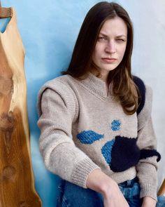 Baby Alpaca, Alpaca Wool, Merino Wool, Handcrafted Jewelry, Hand Knitting, Plant Based, Indigo, Pullover, Silk