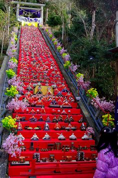 "Japan Hinamatsuri. Photo: ""Katsuura BIg Hinamatsuri"" by blue2342_2nd on Flickr."
