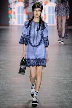 #AnnaSui  #fashion #Koshchenets   Anna Sui Spring 2017 Ready-to-Wear Collection Photos - Vogue
