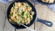 Thai Coconut Chicken Risotto