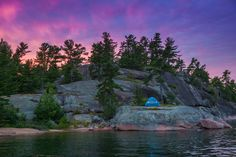 manitoulin island sunset, Northeastern Ontario, Canada #NEOntario
