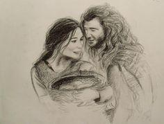 Drawing - Braveheart https://www.facebook.com/Anouktekent