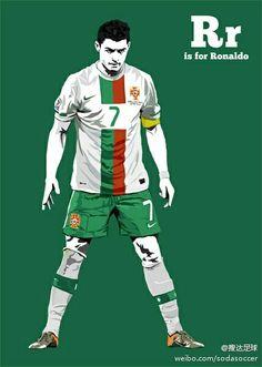 Cristiano Ronaldo of Real Madrid & Portugal wallpaper.