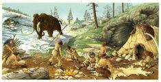Cronología etapas de la prehistoria . #cultura #Australopithecus #CroMagnon