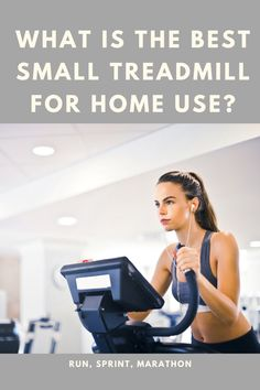 Buying a treadmill is a big decision to make, they are an investment in your health and fitness and can help you live a longer, healthier life. But they also tend to take up a lot of space! If you have a big, beautiful house then size isn't always going to be an issue. However, if you live in a regular sized house or a small apartment then you'll want to find a treadmill that you can fit into it. In this article we will be attempting to find the best small treadmill for home use. Best Treadmill For Home, Marathon, Good Treadmills, Healthy Life, Beautiful Homes, Health Fitness, Good Things, Running