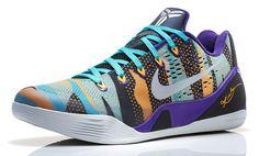 Nike Kobe 9 EM - Court Purple/Reflective Silver-Atomic Mango-Turquoise | KicksOnFire.com
