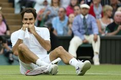 My favourite Federer celebrations after winning the tournament (not in particular order) 1. Federer def. Roddick Wimbledon 2009 - He is ECSTATIC after breaking Sampra's all time record of 14 slams. 2....