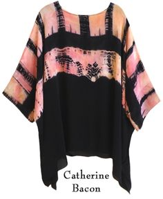 Catherine Bacon ... love the tie dye and pink and black combination
