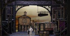 Oliver! - Joseph Mar - Oliver! - Joseph Marshall Design --- #Theaterkompass #Theater #Theatre #Schauspiel #Tanztheater #Ballett #Oper #Musiktheater #Bühnenbau #Bühnenbild #Scénographie #Bühne #Stage #Set
