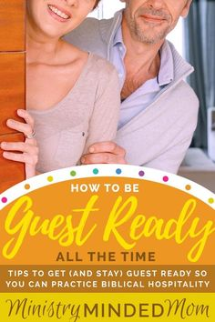 Biblical Hospitality: How to be Guest Ready All the Time Christian Homemaking, Christian Parenting, Christian Women, Christian Living, Christian Life, Pastors Wife, How To Remove, How To Get, Christian Inspiration