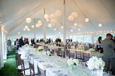 White Wedding! Catering by The Casual Gourmet. http://www.thecasualgourmet.com