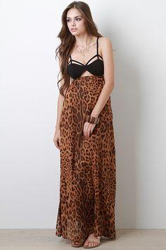 Call Of The Wild Maxi Dress $44.60