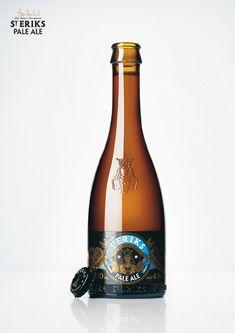 S:t Eriks Beer Bottle