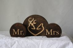 Hey, I found this really awesome Etsy listing at http://www.etsy.com/listing/156619932/rustic-wedding-cake-topper-set-mr-and