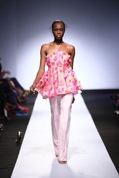 Heineken Lagos Fashion & Design Week 2015 Fabric embellishment for the Onalaja Collection