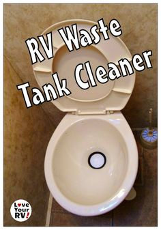 RV waste tank cleaner advice from the Love Your RV! blog - http://www.loveyourrv.com/cheap-waste-tank-cleanier/ #RV #Sewer