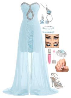 """If I Never Knew You"" by dragongirl145 ❤ liked on Polyvore featuring Pelle Moda, Lancôme and Allurez"