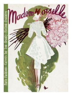 vintage mademoiselle covers
