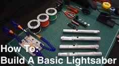 DIY Tutorial: How To Build A Basic Custom KRS Kit Stunt Lightsaber Make A Lightsaber, Custom Lightsaber, Lightsaber Hilt, Star Wars Light Saber, Prop Making, Stunts, Diy Tutorial, Larp Costumes, Kit