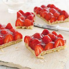 Veggie Recipes, Baking Recipes, Strawberry Tart, Cake & Co, Bakery, Sweet Treats, Cheesecake, Food And Drink, Favorite Recipes