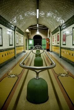 G… Genova (Genoa) Genova (Genoa), Italy by Antonella Fava What looks to be a 1920s Metro station. The combo of the color scheme and the symmetry and the terrazzo is just great. BTW, while searching on...