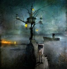 The Whimsical Art of Alexander Jansson - Cruzine Pierrot Costume, Illustrations, Illustration Art, Imagenes Free, Ange Demon, Fairy Houses, Whimsical Art, Dark Art, Uppsala