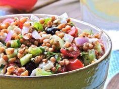 May 2014 Newsletter: Greek Lentil Salad